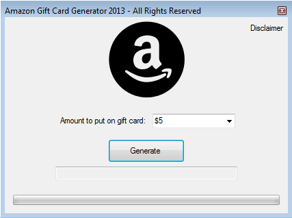download the amazon gift card generator success
