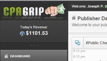 Make money with CPA Grip