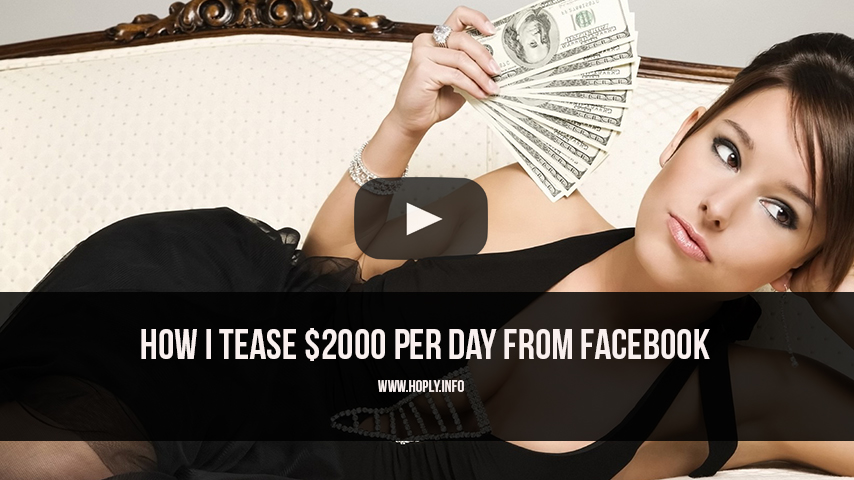 make cash from facebook